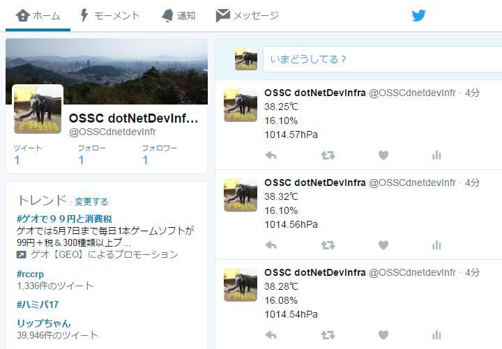 SensorTweet