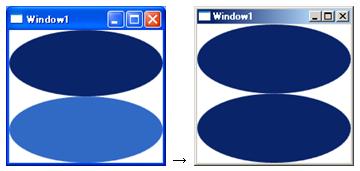 DynamicResourceの定義と参照例(リソースがアプリケーション外部から変更される場合)