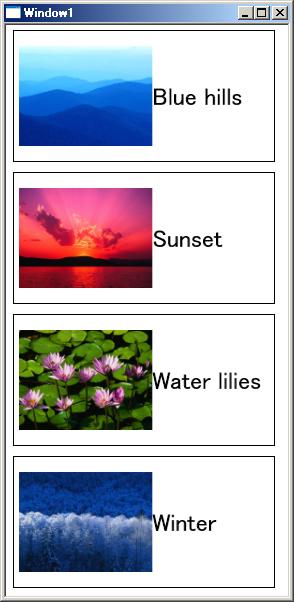 複数のパネルに纏めて格納した複数のコンテンツ要素