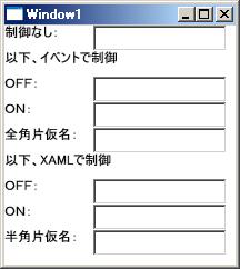 IME制御